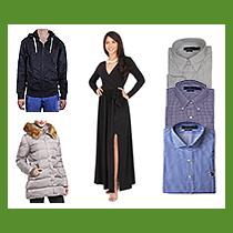 5 Pallets of Women's, Men's & Children's Apparel & Footwear, Warehouse Damaged (Lot SDF9A019BW), 2,254 Units, Retail $61,016+, Sheperdsville, KY